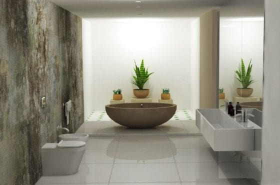 ArtiCAD Stone Bathroom by Sketch & Render