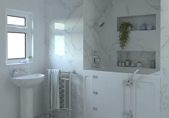 ArtiCAD Marble Bathroom