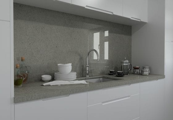 ArtiCAD Pearl Grey Close Up Kitchen
