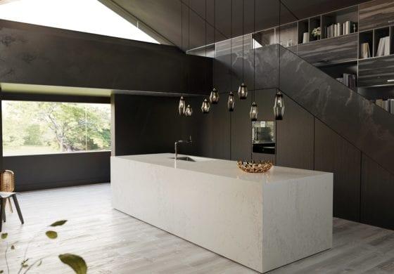 CGI light & dark kitchen