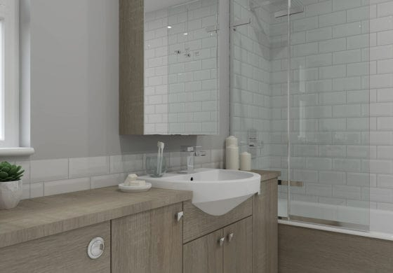 ArtiCAD Wooden Bathroom