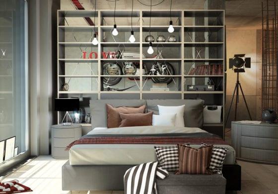 ArtiCAD Contemporary Bedroom render