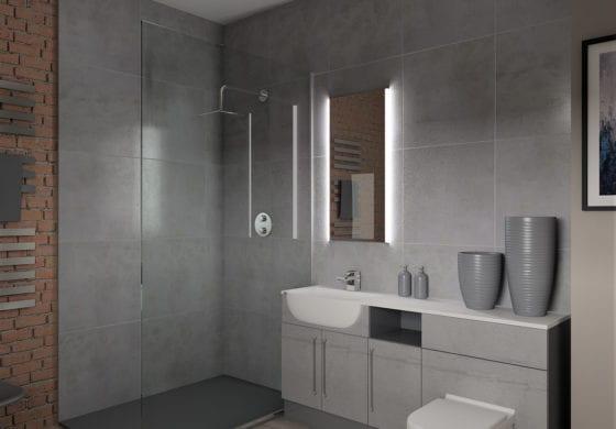 ArtiCAD Grey Bathroom