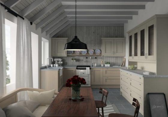 ArtiCAD Light Cashmere Kitchen