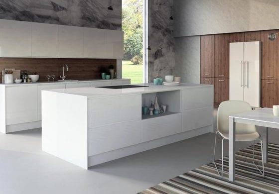 ArtiCAD Matte White Kitchen