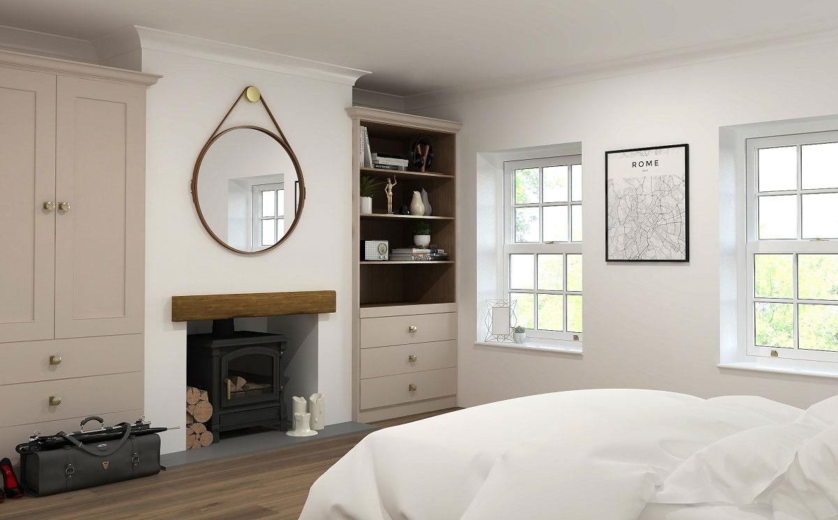 ArtiCAD Cashmere Bedroom render