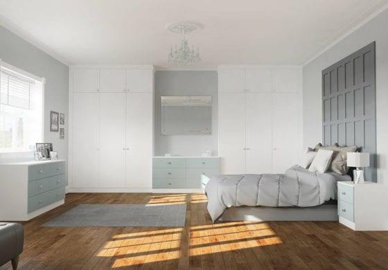 ArtiCAD White Bedroom render