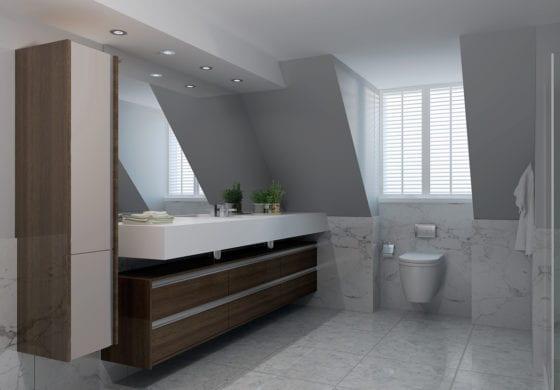 ArtiCAD Dark Wooden Bathroom