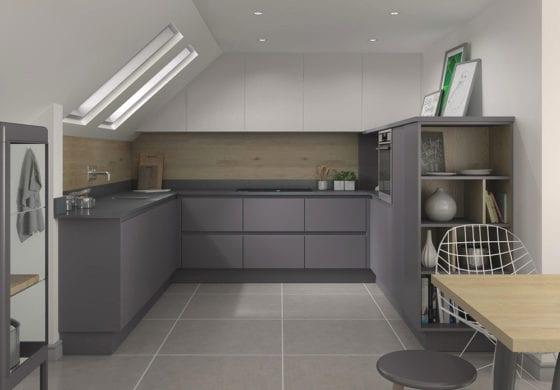 ArtiCAD Matte Grey Kitchen