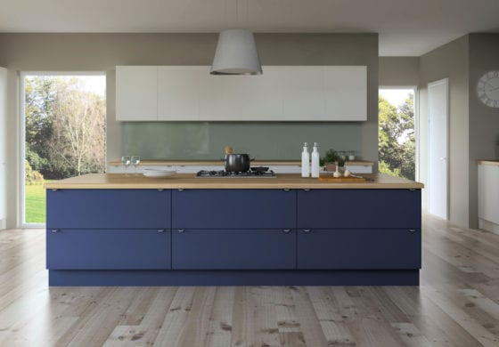 ArtiCAD Blue Kitchen