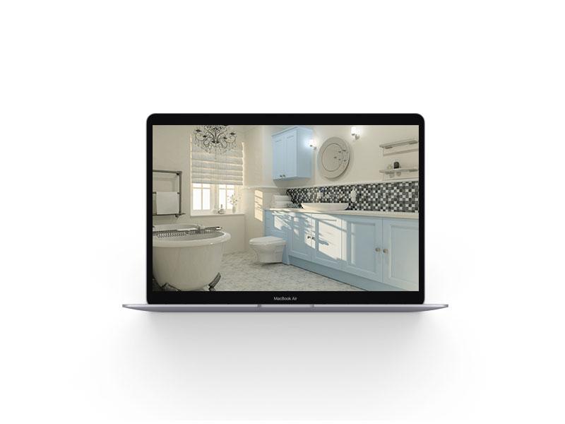 Roomviewer render on mac image