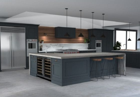 ArtiCAD Barn style house by Blackstone Kitchens
