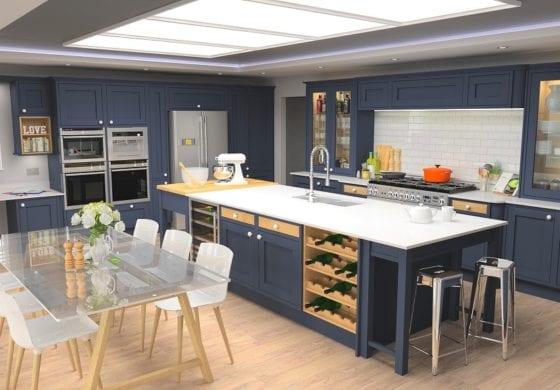 ArtiCAD Dorchester Painted Inframe by Optiplan Kitchens