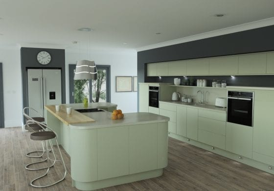 ArtiCAD Modern updated Kitchen by Cuillin Ridge