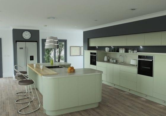 ArtiCAD Modern updated Kitchen by Cuillin Ridge