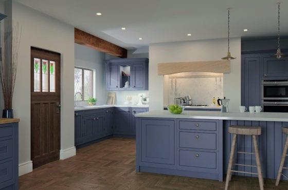 ArtiCAD-Pro render featuring 1909 Kitchens