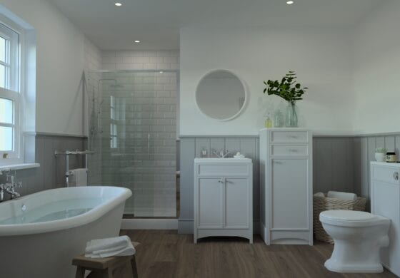 ArtiCAD White Bathroom
