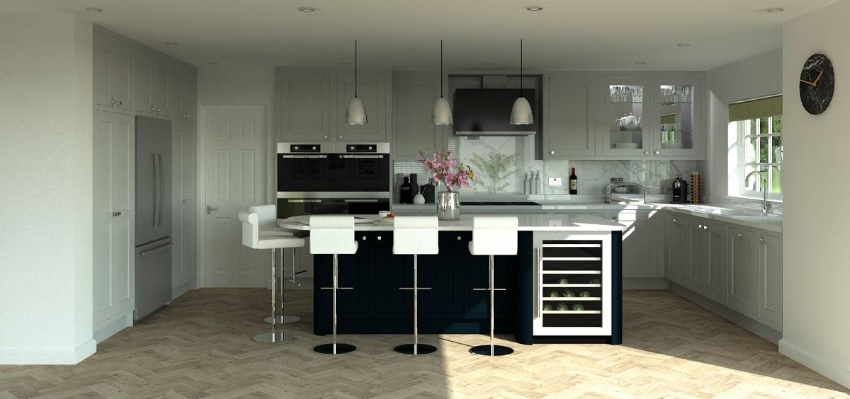 MPG kitchen VR render