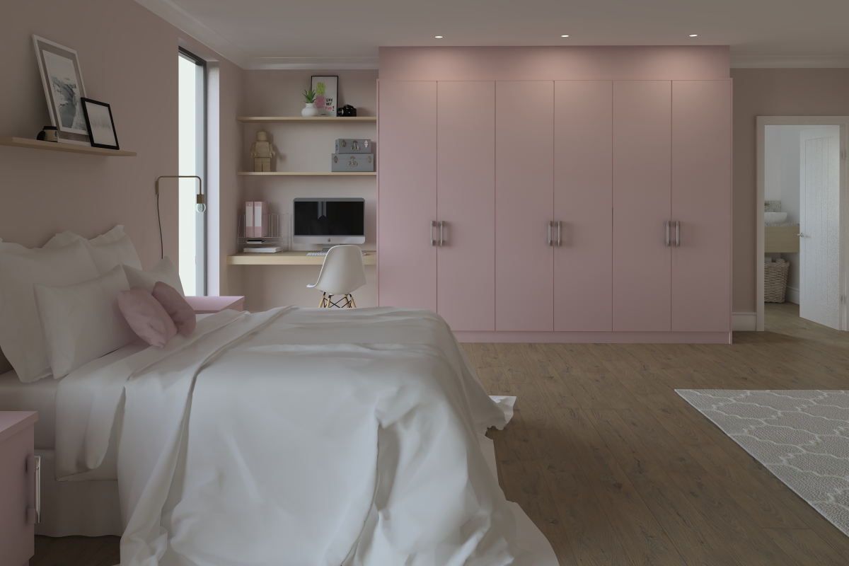 ArtiCAD Getley Bedroom render