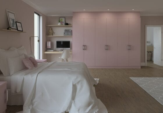 ArtiCAD Pink Bedroom