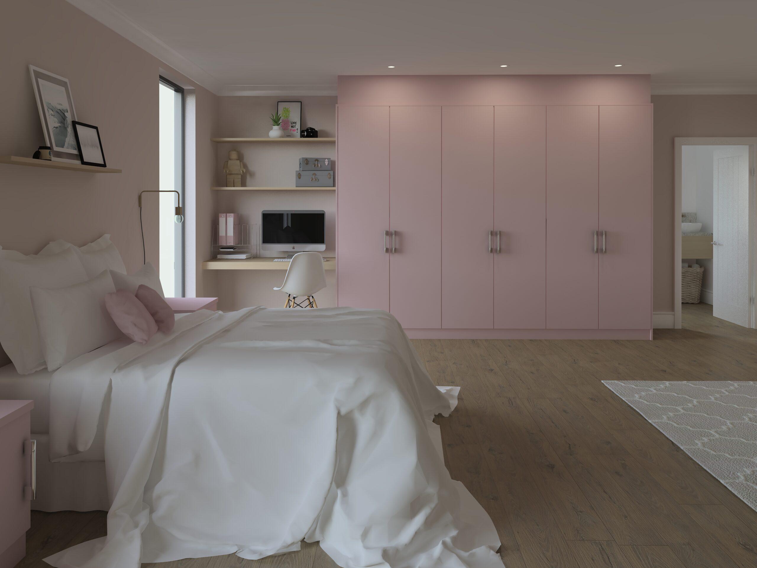 ArtiCAD Pink Bedroom render