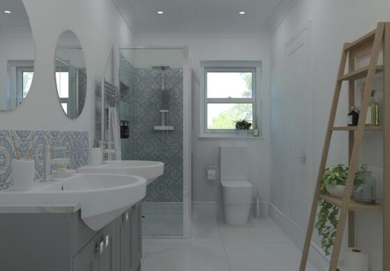 ArtiCAD Blue Bathroom