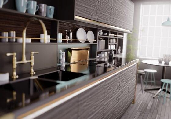 CGI light kitchen