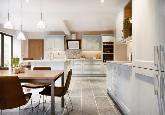 CGI White kitchen