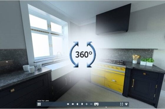 Pan360 kitchen