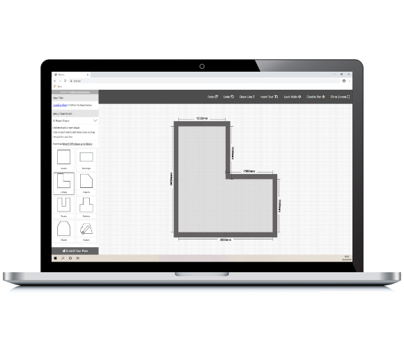 RoomPLanner On Laptop image Now Plan