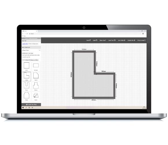 RoomPLanner On Laptop Now Plan