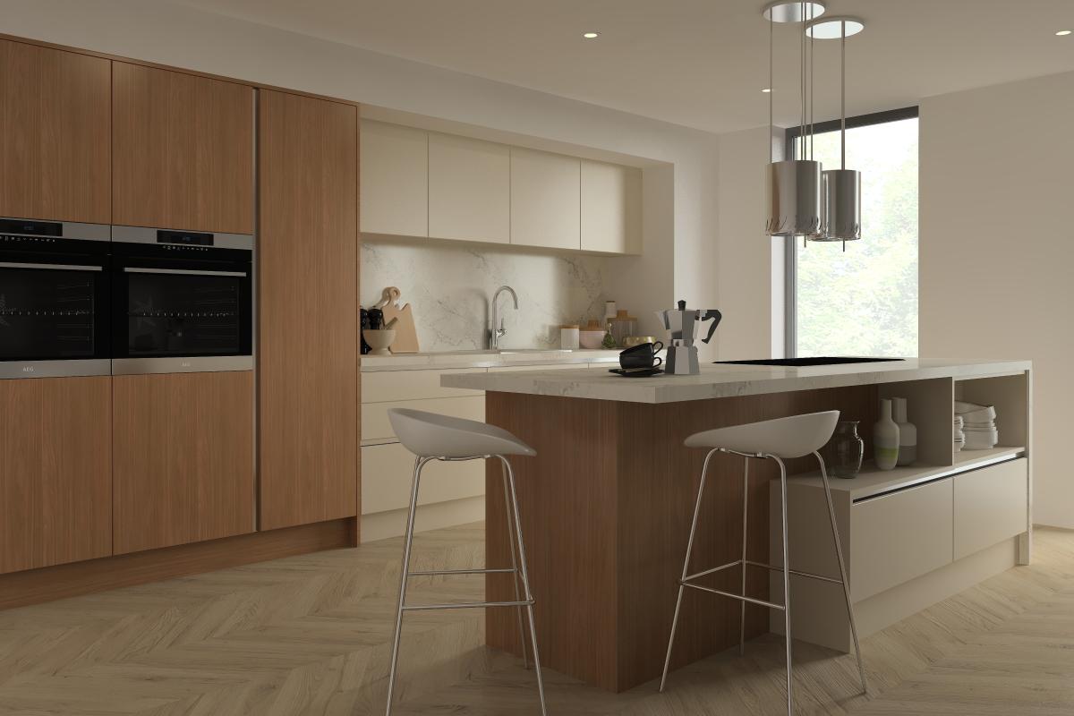ArtiCAD Getley Kitchen render
