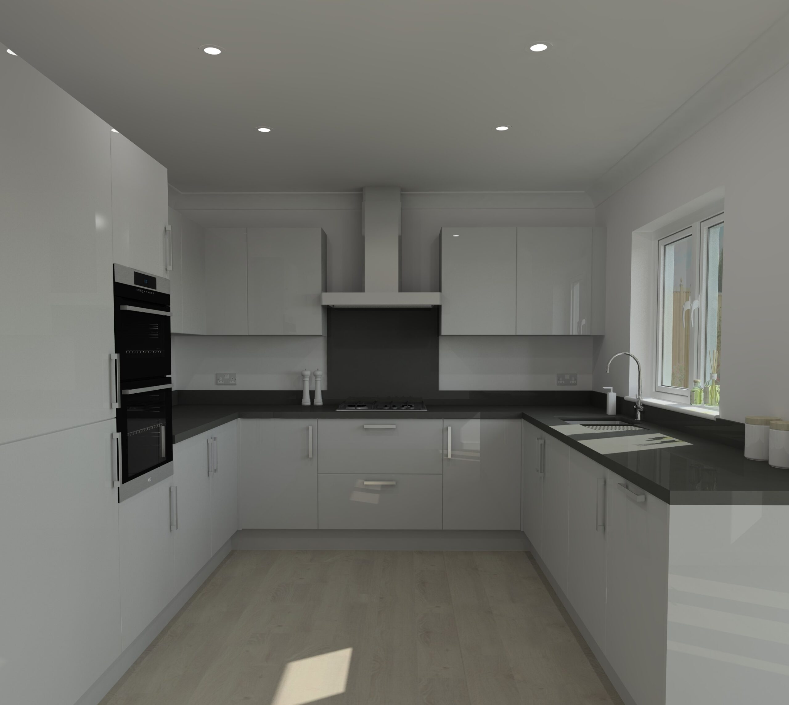 Social and Contract Housing render