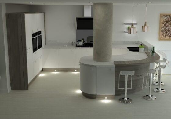 ArtiCAD Hill Kitchen by Alpha Interior Designs