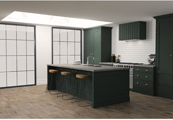 ArtiCAD Obsidian Shaker Kitchen by Blackstone Kitchens