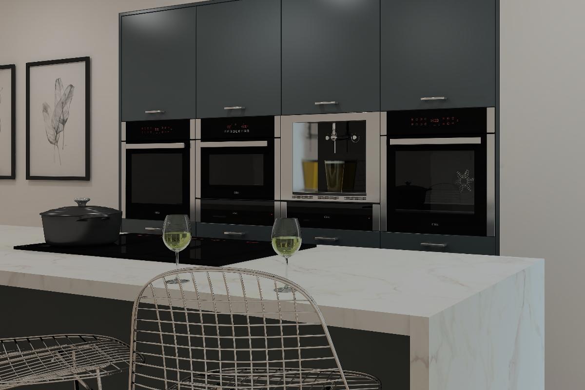 ArtiCAD CDA Appliances render