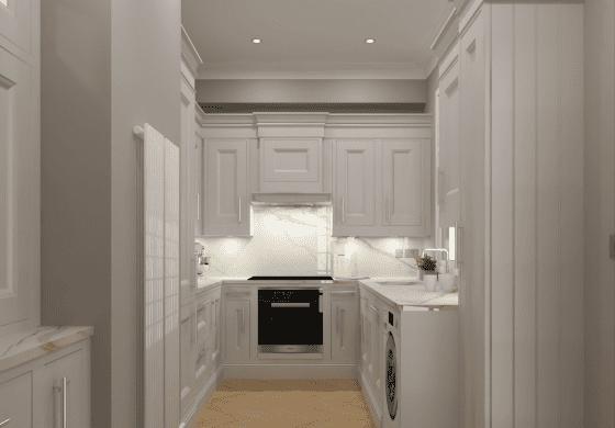 ArtiCAD Light Grey Shaker Kitchen by Lewis James