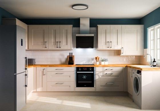 ArtiCAD Dove Grey Ash Kitchen by Wilson Interiors