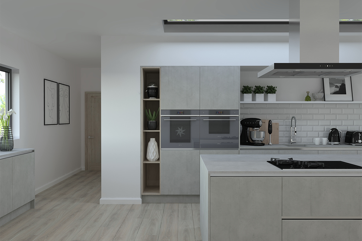 ArtiCAD Render to File ft Smeg Appliances 12 by 8