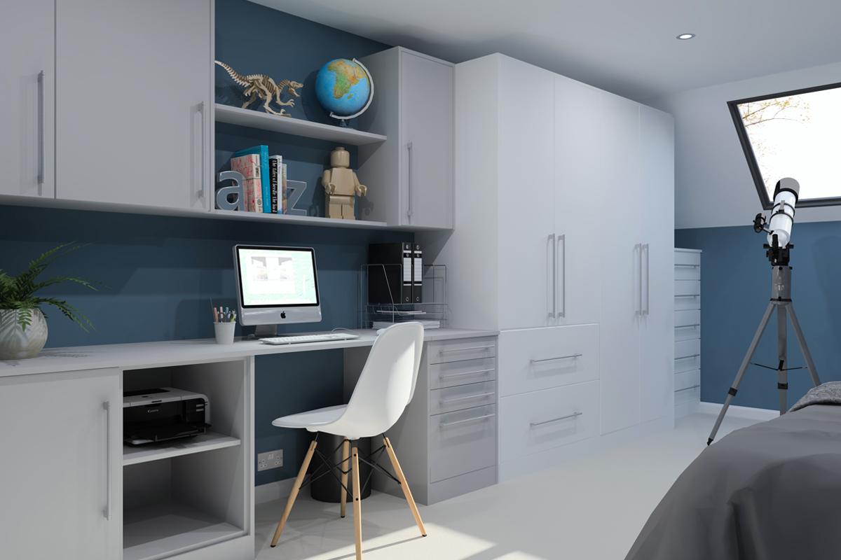 ArtiCAD Light Grey Bedroom