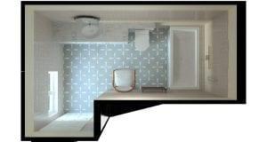 Lansdown Bathrooms plan image