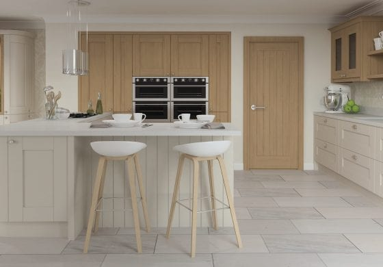 ArtiCAD-Pro Cashmere and Wood Kitchen