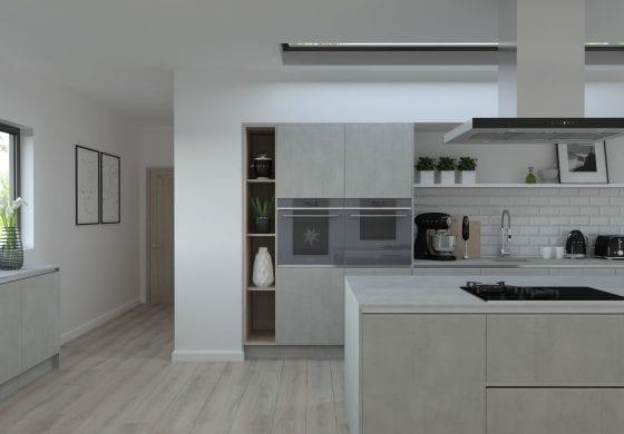 ArtiCAD-Pro Concrete Kitchen